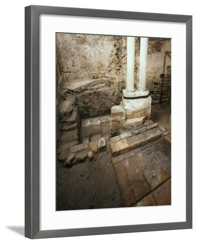 Italy, Milan, Basilica of Sant'Ambrogio, Ciel D'Oro, Oratory of San Vittore--Framed Art Print