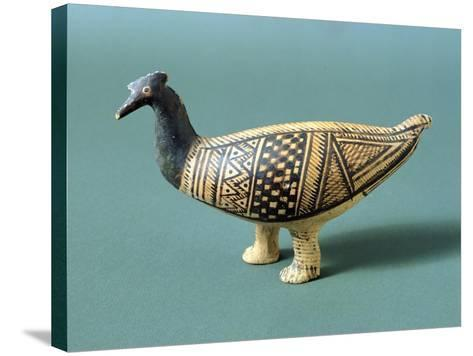 Pottery Duck from the Tomb of a Child, Greece--Stretched Canvas Print