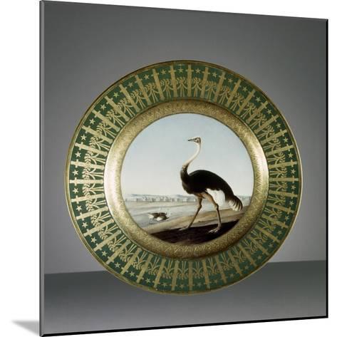 Plate, Porcelain, Sevres Manufacture, Ile-De-France, France--Mounted Giclee Print