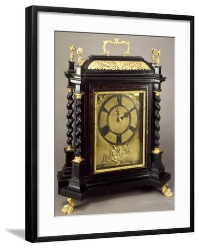 Roman Pendulum Clock, Italy--Framed Art Print