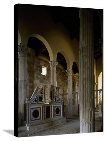 Church of Saint Peter, Interior, Massa D'Albe, Abruzzo, Italy--Stretched Canvas Print