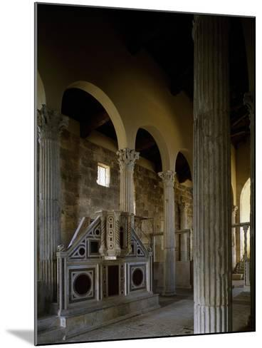 Church of Saint Peter, Interior, Massa D'Albe, Abruzzo, Italy--Mounted Giclee Print