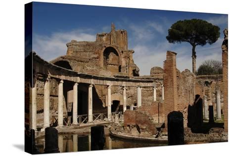 Hadrian's Villa. Maritime Theatre, Italy--Stretched Canvas Print