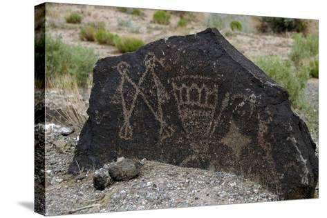 Petroglyph National Monument, Petroglyphs, New Mexico, USA--Stretched Canvas Print