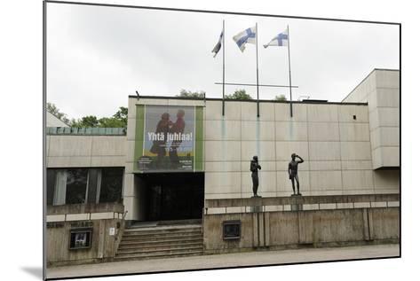 Wa?Ino? Aaltonen Museum of Art or Wam, Turku, Finland--Mounted Giclee Print