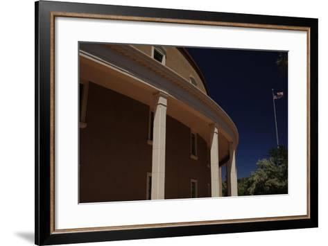 New Mexico State Capitol--Framed Art Print