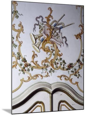 Italy, Santa Margherita Ligure, Villa Durazzo, Detail of Decoration from Room--Mounted Giclee Print