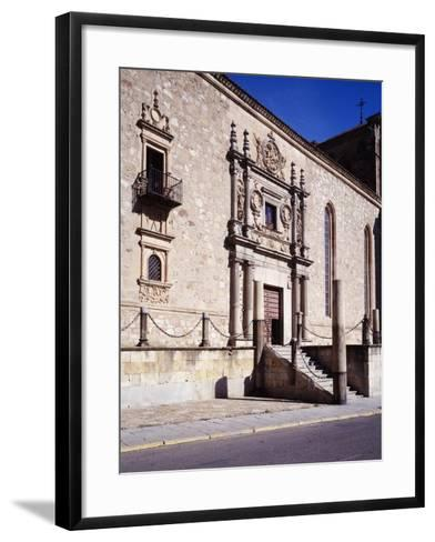 Spain, Salamanca, Archbishop Fonseca College or Irish College,16th Century--Framed Art Print