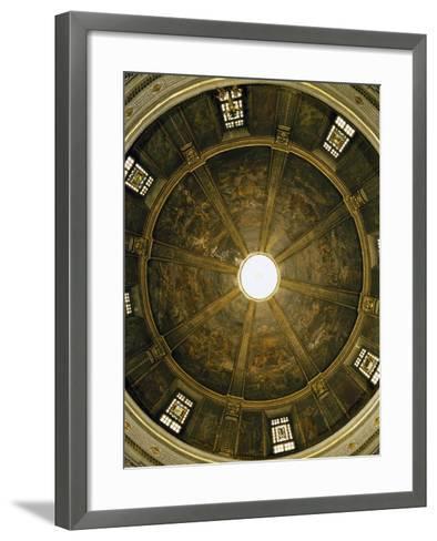 Central Vault of Church of St Sebastian--Framed Art Print