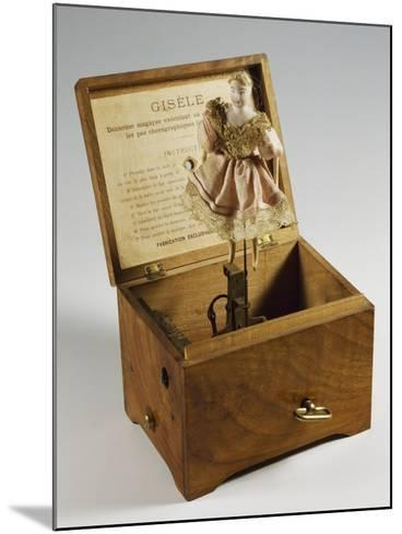 Music Box with Ballerina, France, Late 19th Century--Mounted Giclee Print