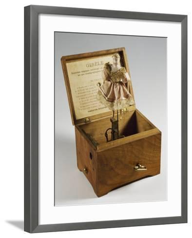 Music Box with Ballerina, France, Late 19th Century--Framed Art Print
