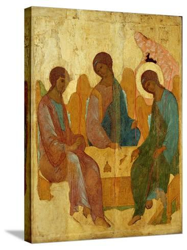 The Trinity, 16th Century Russian Icon--Stretched Canvas Print