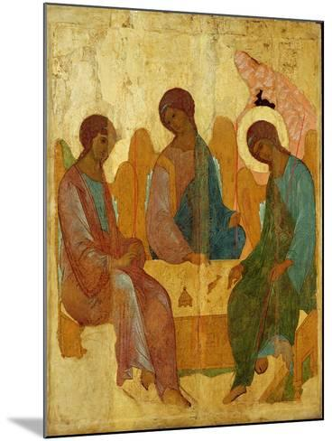 The Trinity, 16th Century Russian Icon--Mounted Giclee Print