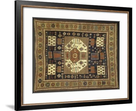 Rugs and Carpets: Georgia - Karachop Carpet--Framed Art Print