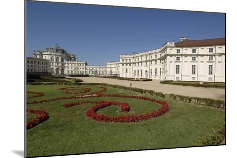 Italy, Piedmont, Stupinigi, Palazzina Di Caccia, Royal Hunting Lodge with Garden in Foreground--Mounted Giclee Print