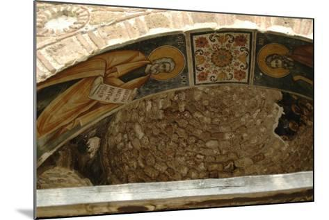 Frescoes, Exonarthex of Saint Nicholas Church--Mounted Giclee Print