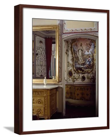 Italy, Santa Margherita Ligure, Villa Durazzo, House of Pregadio's Chapel--Framed Art Print