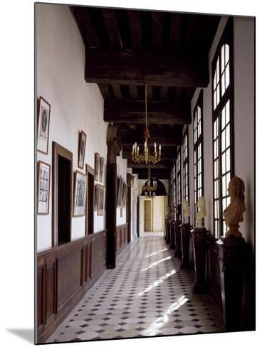 France, Chateau De Saint-Fargeau, Portrait Gallery--Mounted Giclee Print