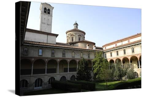 Milan, Italy, the Science and Technology Museum Leonardo Da Vinci, Cloister--Stretched Canvas Print