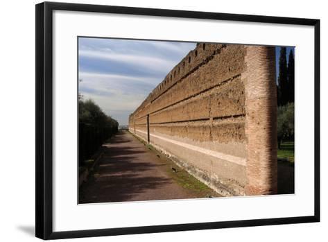 Hadrian's Villa, Pecile, Italy--Framed Art Print