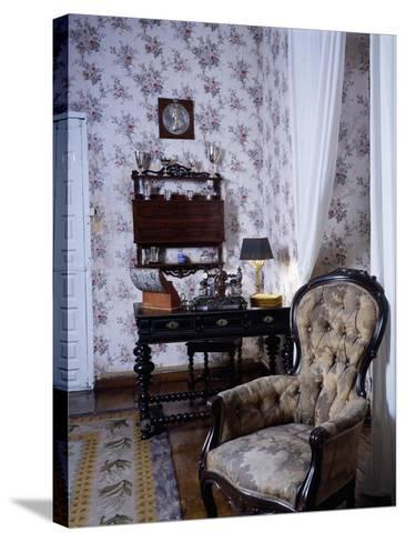 Bedroom, Marquis De Benemejis' House, Santillana Del Mar, Spain--Stretched Canvas Print
