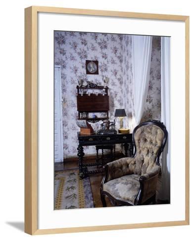 Bedroom, Marquis De Benemejis' House, Santillana Del Mar, Spain--Framed Art Print