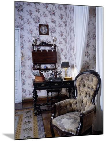 Bedroom, Marquis De Benemejis' House, Santillana Del Mar, Spain--Mounted Giclee Print