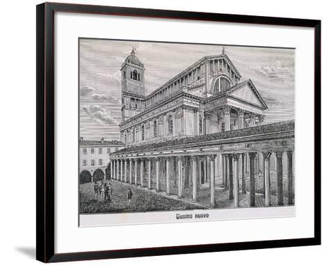 The Cathedral at Novara by Antonelli, 1877--Framed Art Print