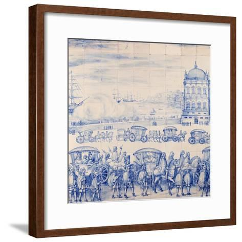 Celebrations for Marriage of Infant Catherine of Braganza and King Charles II of England--Framed Art Print