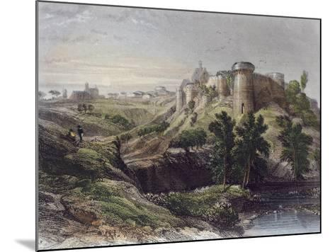 View of a Castle, France 19th Century--Mounted Giclee Print