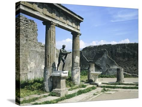 Temple of Apollo--Stretched Canvas Print