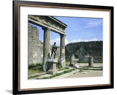 Temple of Apollo--Framed Art Print