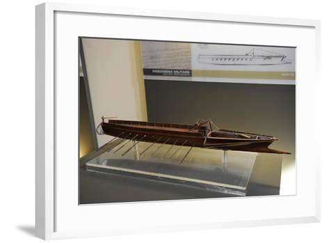 Fast Ramming Boat, 1487-1492--Framed Art Print