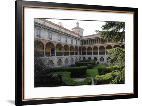 Milan, Italy, the Science and Technology Museum Leonardo Da Vinci, Cloister--Framed Art Print
