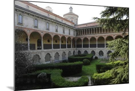 Milan, Italy, the Science and Technology Museum Leonardo Da Vinci, Cloister--Mounted Giclee Print