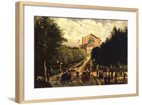 Germany, Bayreuth, Wagnerian Festival--Framed Art Print