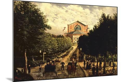 Germany, Bayreuth, Wagnerian Festival--Mounted Giclee Print