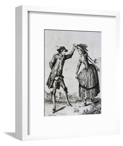 Pair of Dancers, Germany--Framed Art Print