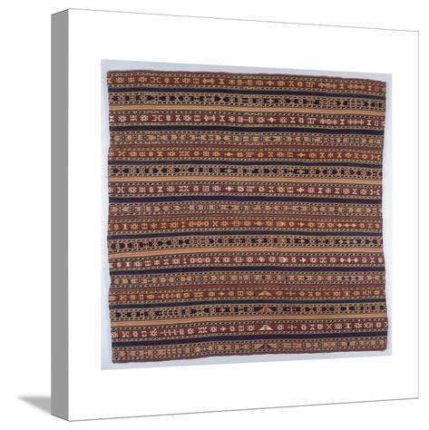 Rugs and Carpets: Iran - Giagim Senneh Carpet--Stretched Canvas Print