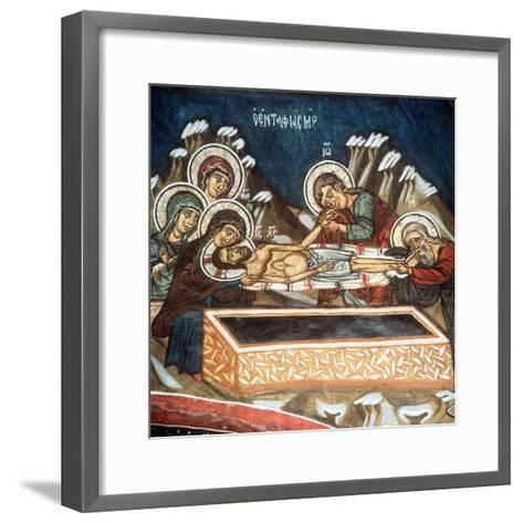 The Entombment--Framed Art Print