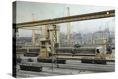 Coke Oven, Diorama--Stretched Canvas Print