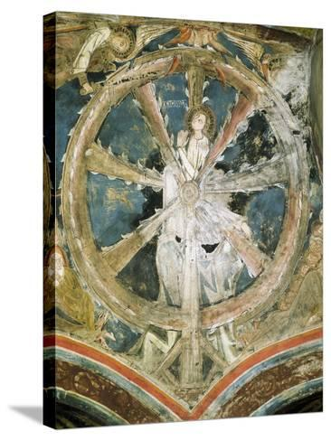 Martyrdom of St Catherine of Alexandria in Cathedral of Notre-Dame, Le-Puy-Notre-Dame, France--Stretched Canvas Print