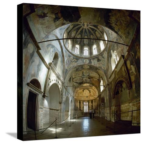 Church of the Holy Saviour in Chora, Parecclesion, Istanbul--Stretched Canvas Print