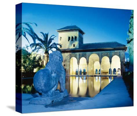 Spain, the Alhambra, Tower of the Ladies--Stretched Canvas Print