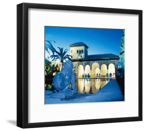 Spain, the Alhambra, Tower of the Ladies--Framed Art Print