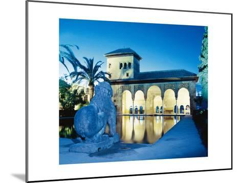 Spain, the Alhambra, Tower of the Ladies--Mounted Giclee Print