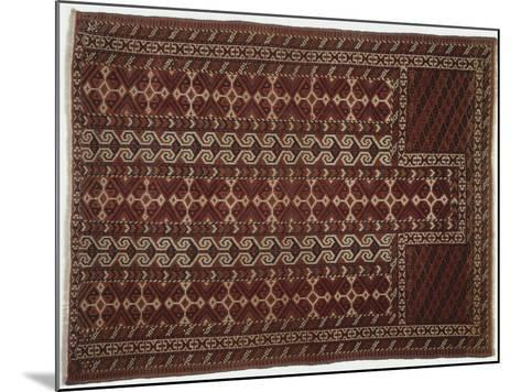 Rugs and Carpets: Russia, Turkestan, Prayer Carpet--Mounted Giclee Print