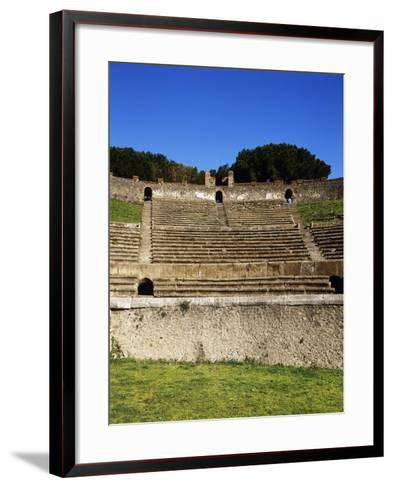 Amphitheater, Pompeii, Italy--Framed Art Print