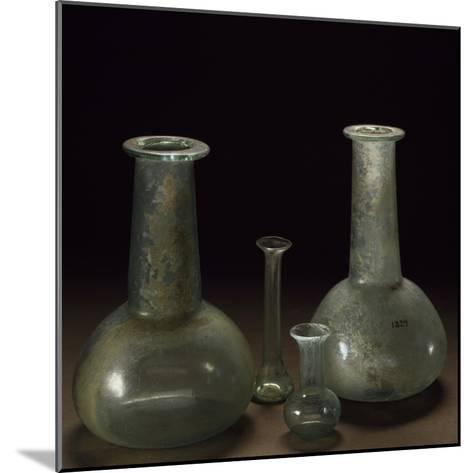 Long Neck Glass Jars--Mounted Giclee Print