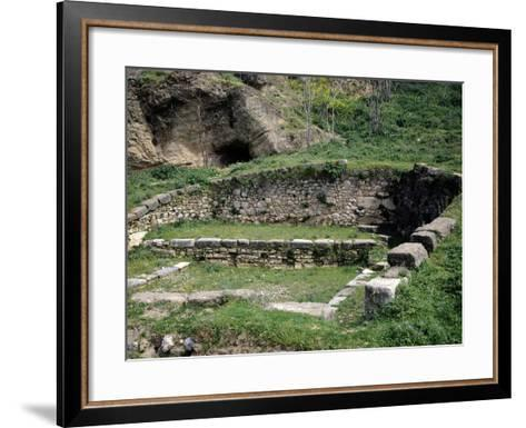 Fountain of Dirce in Thebes, Greece--Framed Art Print